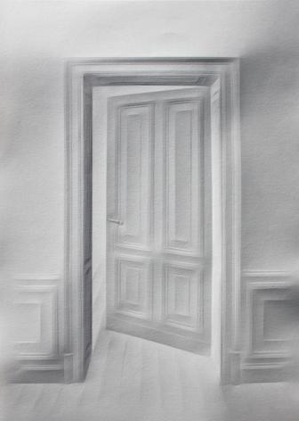 Simon Schubert, Untitled (Door), 2015