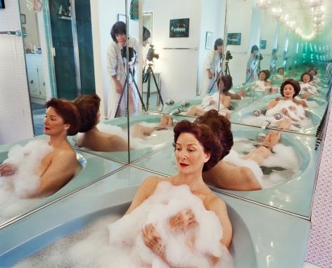 Sage Sohier, Mum in her bathtub, Washington D.C., 2002