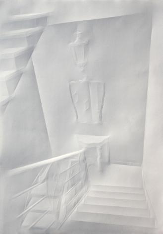 Simon Schubert, Untitled (Staircase), 2014
