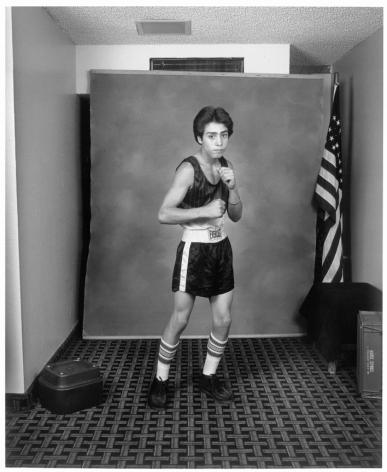 Leon Borensztein, Young Boxer, Dayton, Nevada, 1985