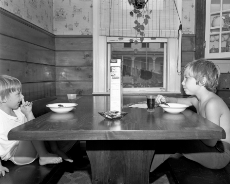 Mary Frey, Untitled (Boys at Breakfast), 1979-1983