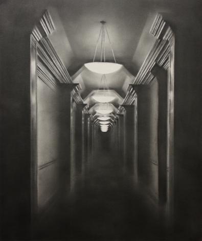 Simon Schubert, Untitled (Hallway), 2018