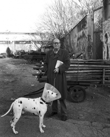 Jersey Walz Massimo and Dog, Rome, 2009