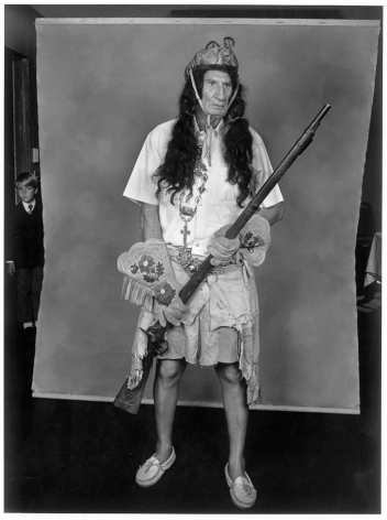 Leon Borensztein, American Indian, Phoenix, California, 1986