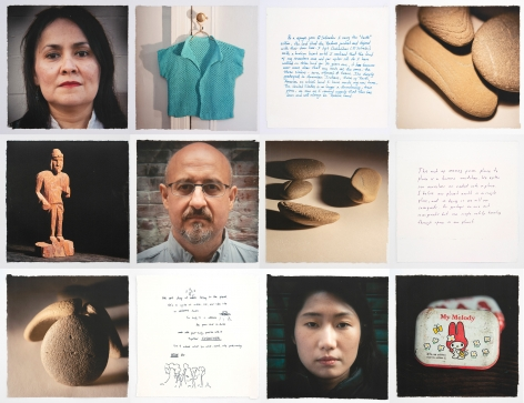 Pierre-Yves Linot, Full Series (Immigrant Song #129, Maria from El Salvador, Immigrant Song #142, Mario from Mexico, Immigrant Song #148, Ching Wen Tsai from Taiwan,), 2019