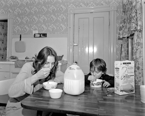 Mary Frey, Untitled (Woman and Boy at Breakfast), 1979-1983
