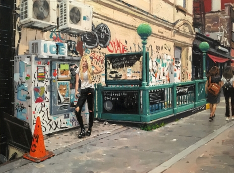 Vincent Giarrano, Waiting in Williamsburg