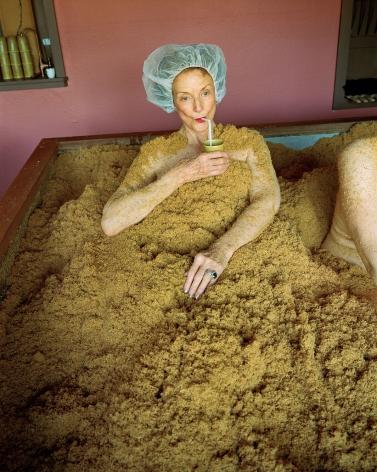 Sage Sohier, Cedar enzyme bath, Osmosis Spa, Freestone, CA, 2010