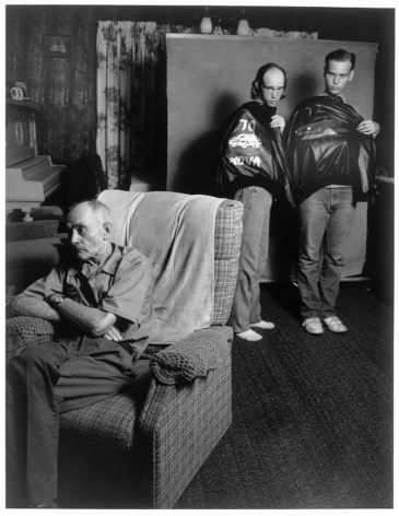 Leon Borensztein, Brothers with Painted Jackets, St. James, Minnesota, 1988