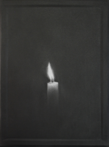 Simon Schubert, Untitled (Candle 9), 2015