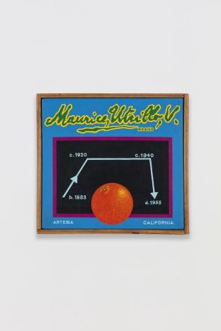Ben Sakoguchi, Orange Crate Label Series: Maurice Utrillo V Brand, c. 1974-81