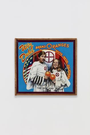 Ben Sakoguchi, Orange Crate Label Series: Wiz Duke Brand, c. 1981