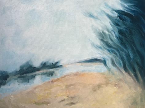 Shaun C. Murphy Dynamic Landscape 4, 2017 Oil on canvas 45 x 60 cm