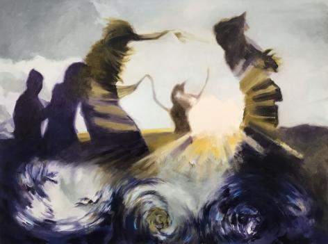 Shaun C. Murphy Unity (Equilibrium), 2017 Oil on canvas 90 x 120 cm
