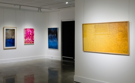 Stu Murphy Pause exhibition ​Installation View at Lone Goat Gallery Byron Bay 2019