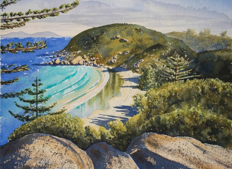 Dave Sparkes Arthur's Bay, Magnetic Island