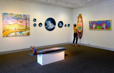 Byron Bay Surf Festival  Art Show  Installation View  2017