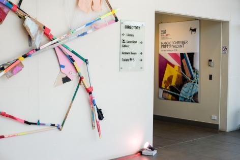 Maggie Schreiber Pretty Vacant Installation View 2018