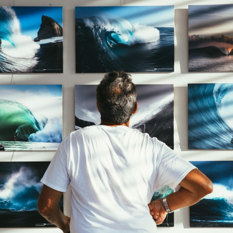 Nikon Surf Photo of the Year Award 2017 Installation View at Lone Goat Gallery