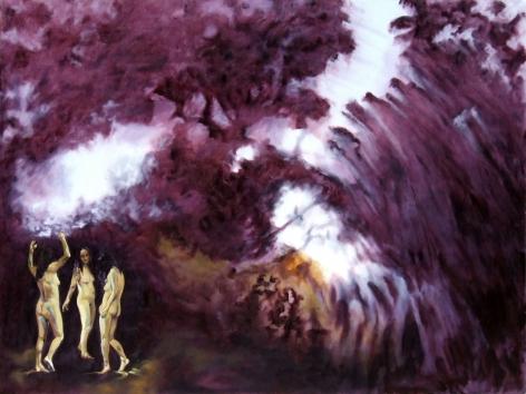 Shaun C. Murphy Terranaut [Traversing]  Oil on canvas 90 cm x 120 cm