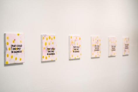Holly Ahern + Eden Crawford-Harriman, Jawbreakers Lone Goat Gallery
