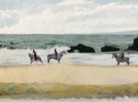 Shaun C. Murphy Harmony (Connection), 2017 Oil on canvas 90 x 120 cm
