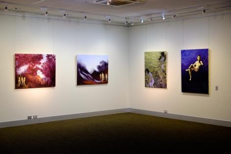 Shaun C. Murphy Nocturnal Flux Installation View 2017