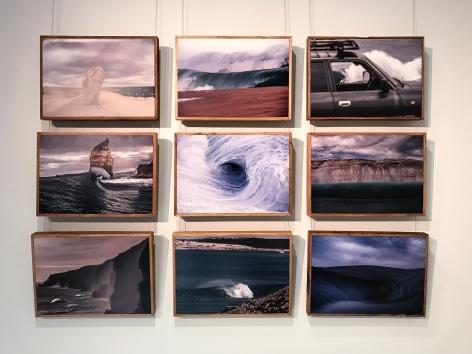 Hayden Richards (Aka SA Rips) Byron Bay Surf Festival  Installation View 2017