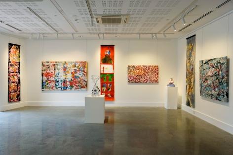 REDinc Studio Artists & Club Lane Multitask Collab Collective exhibtion Installation View 2019