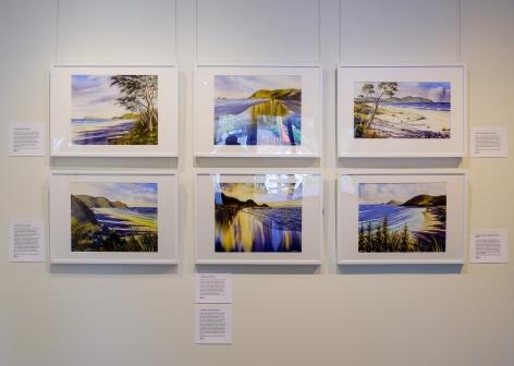 Dave Sparkes illumination Installation View 2017 Lone Goat Gallery exhibition