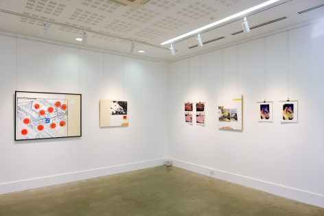 Jacob Boylan Dire Contact exhibition Installation View at Lone Goat Gallery 2020