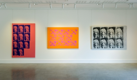 Michael Stiegler On Bowery exhibition Installation View 2019 Lone Goat Gallery