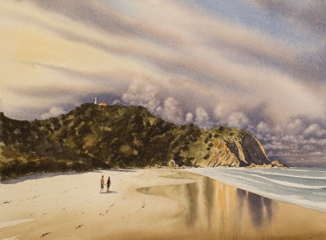 Dave Sparkes Approaching Storm Over Cosy Corner