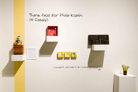 Thank God for Philip Koplin (& Family), Virginia McCracken, 2017