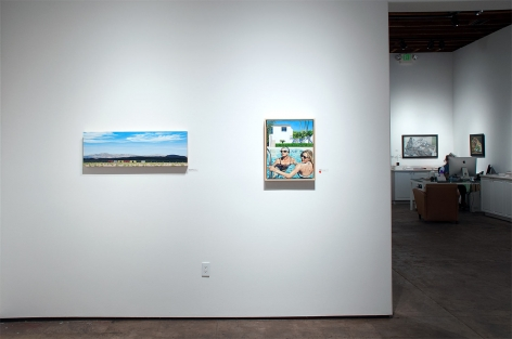 Installation photograph of REAL WOMEN: Realist Art by American Women, Mary-Austin Klein, DJ Hall