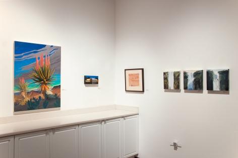 THE WINTER SALON, 2019 installation, Greg Singley, Rick Monzon, William Dole, Joseph Goldyne