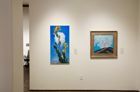 Ahead in the Clouds, Installation Shot