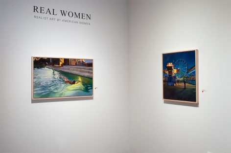 Installation photograph of REAL WOMEN: Realist Art by American Women, Patricia Chidlaw