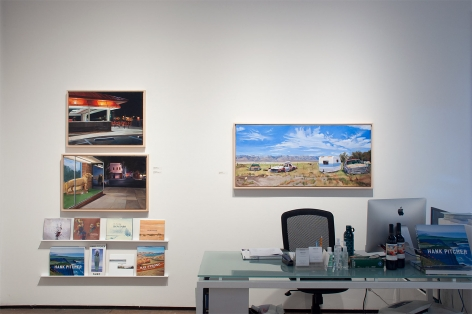 Installation photograph of PATRICIA CHIDLAW: Elsewhere, Paradise