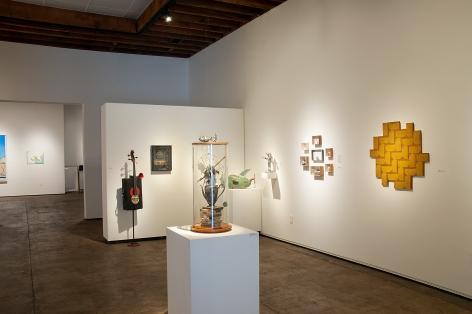 The Red-Headed Stepchild Installation photograph, Sue Van Horsen, Ron Robertson, Tal Avitzur, Susan Tibbles, Virginia McCracken, Nancy Gifford