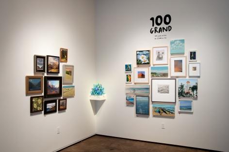 100 GRAND, 2018 installation shot