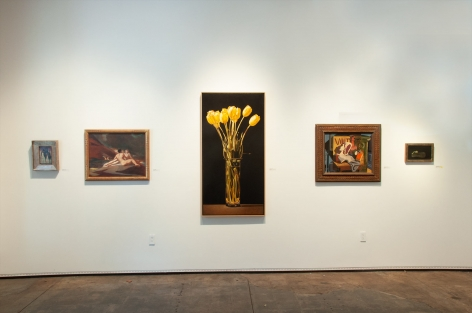 A FEW OF OUR FAVORITE THINGS, 2019 installation, Leon Kelly, Harry Carmean, John Nava, Francis Criss, Howard Warshaw