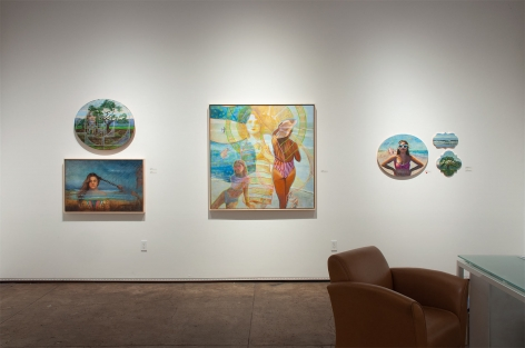Installation photograph of HOLLI HARMON: Califia