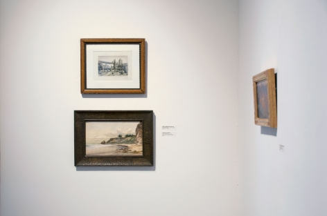 Installation photograph of California on my Mind, Henry Chapman Ford, John Sykes, Colin Campbell Cooper