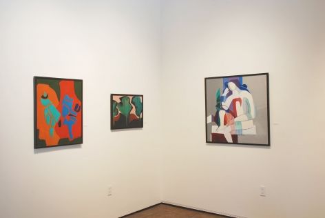 ANYA FISHER: The Freedom to Paint, 2014 installation shot