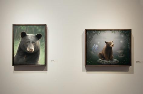 Contemporary Bear Area Artists Installation photograph, Susan McDonnell
