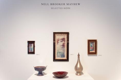 NELL BROOKER MAYHEW: Selected Work, 2018 installation photograph, Linda Haggerty