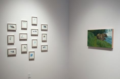 Contemporary Bear Area Artists Installation photograph, Nicole Strasburg