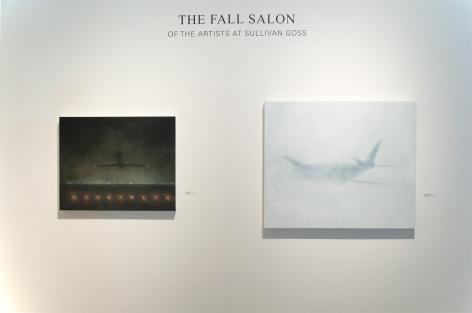 THE FALL SALON 2019 installation shot with Natalie Arnoldi