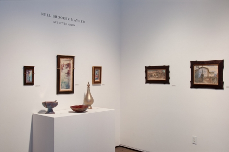 NELL BROOKER MAYHEW: Selected Work, 2018 installation photograph, Linda Haggerty